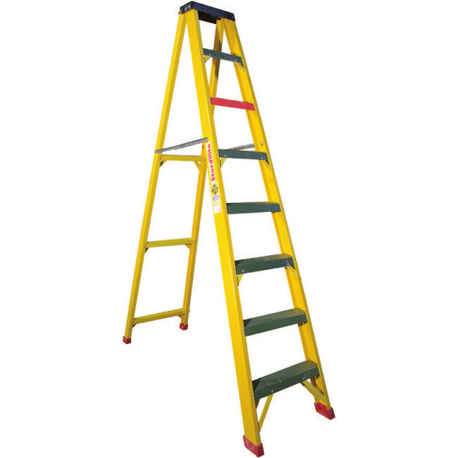 Picture of FGS ALL - Full Fibreglass 10 Step Ladder [FGS 10-ALL]