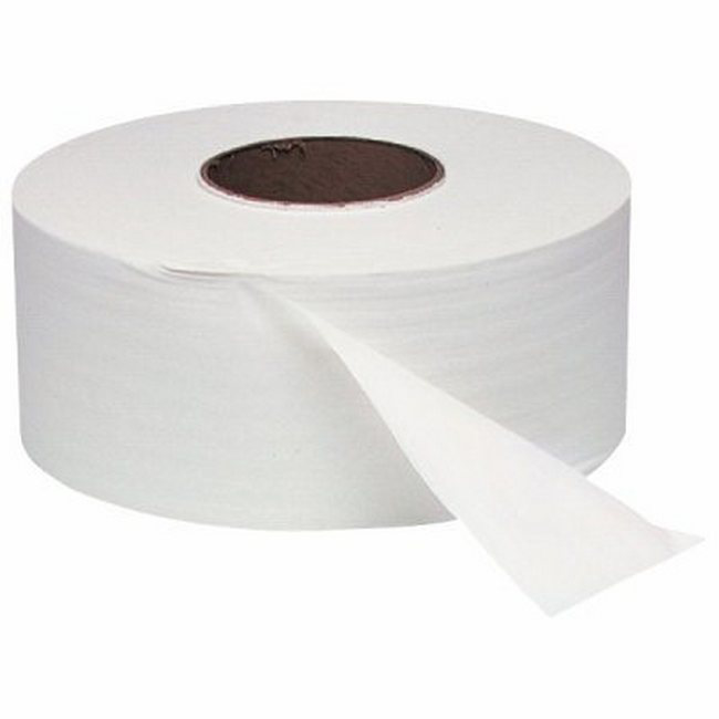 Picture of Jumbo Toilet Paper - 1 Ply - 8 Rolls [PP_07]