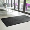 Picture of Absorbent Doormat - Wash & Clean Anti-Slip Machine Washable Mat - 120 x 90 x 0.9 cm - Black - WAC010004