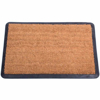 Picture of Coir Rubber Ramp Doormat - 600mm x 400mm - Black & Brown [RCM00006]