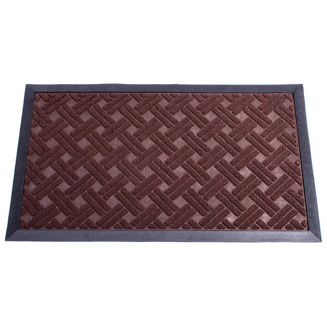 Picture of Poly Mat - Doormat - Black - 750mm x 450mm [POL00002-1]