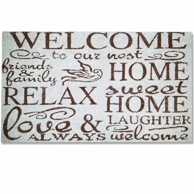 Picture of Design Coir Welcome Doormat - Relax - 700mm x 400mm [CMD00007]