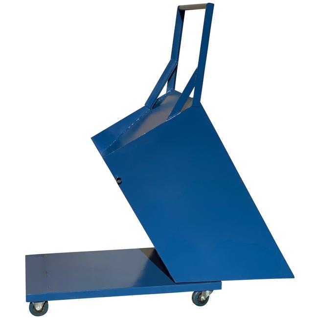 Picture of Shaving Swarf Steel Bin - Blue - 800Kg - SHB1