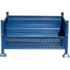 Picture of Stillage Bin - Stackable Steel Bin - Half Drop Side - Blue - 2000Kg - SBD3330
