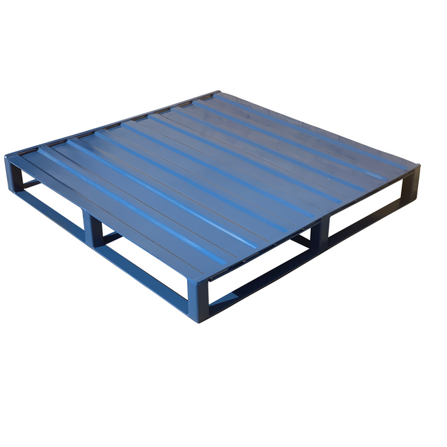 Picture of Steel Pallet - 4 way - Blue - PAL44