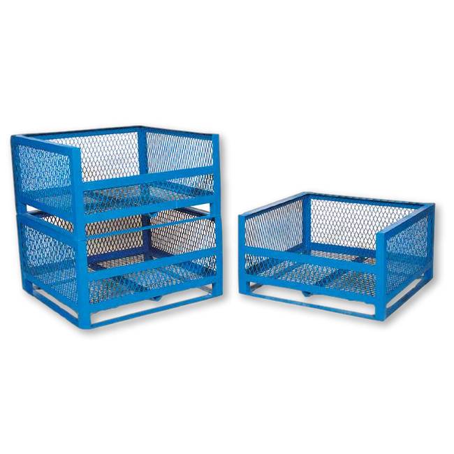 Picture of Cut-Away Cage - Steel - Blue - 476Kg - CUTCAGE2