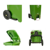 Picture of Wheelie Bin - Foot Operated Pedal Bin - 240L - Various Colours [PBIN240]