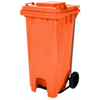 Picture of Wheelie Bin - Foot Operated Pedal Bin - 120L - Various Colours [PBIN120]