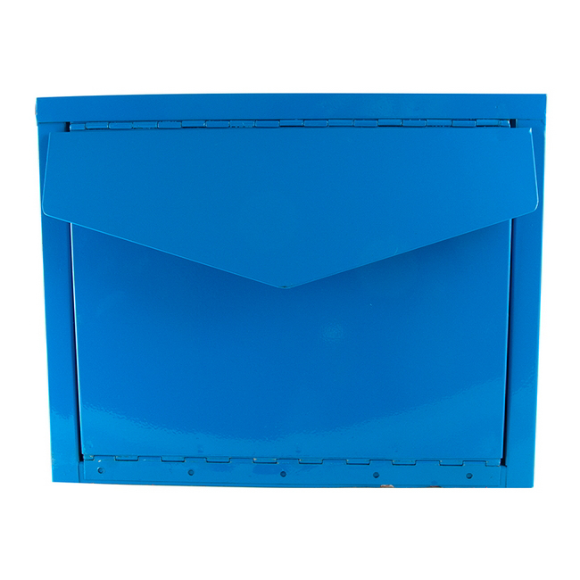 Picture of Letter Box - Lockable - Blue [AWS2654]