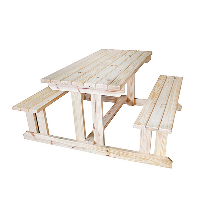 Picture of Family Picnic Table - Solid Pine - TOOG934