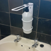 Picture of Hand Sanitiser Dispenser - Elbow - Wall Mounted – Steel - 28 x 10 (⌀) x 28 cm - Hand Dispenser