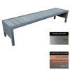 Picture of Mall Bench - Stainless Steel 304 and Composite - Bolt Down - 45x180x51cm - Colour Options - MLO4242S