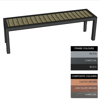 Picture of Facilities Bench - Steel and Composite - Bolt Dn - 45x150x51cm - Colour Options - FLO4632PC
