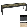Picture of Facilities Bench - Steel and Wood - Bolt Down - 45x150x51cm - Colour Options - FL4632PC