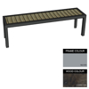 Picture of Facilities Bench - Steel and Wood - Adj. Feet - 45x180x51cm - Colour Options - FL4641PC