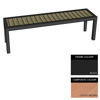Picture of Facilities Bench - Steel and Composite - Bolt Dn - 45x240x51cm - Colour Options - FLO4662PC