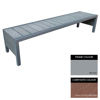 Picture of Mall Bench - Steel and Composite - Bolt Down - 45x150x51cm - Colour Options - MLO4632PC