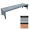 Picture of Mall Bench - Steel and Composite - Adj. Feet - 45x180x51cm - Colour Options - MLO4641PC