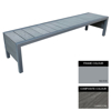 Picture of Mall Bench - Steel and Composite - Bolt Dn - 45x180x51cm - Colour Options - MLO4642PC