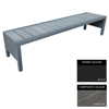 Picture of Mall Bench - Steel and Composite - Adj. Feet - 45x240x51cm - Colour Options - MLO4661PC