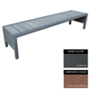 Picture of Mall Bench - Steel and Composite - Bolt Down - 45x240x51cm - Colour Options - MLO4662PC