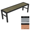 Picture of Slimline Bench - Steel and Composite - Bolt Dn - 45x150x54cm - Colour Options - SLO4632PC