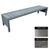 Picture of Mall Bench - Stainless Steel 304 and Composite - Adj. Feet - 45x150x51cm - Colour Options - MLO4231S