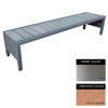 Picture of Mall Bench - Stainless Steel 304 and Composite - Adj. Feet - 45x180x51cm - Colour Options - MLO4241S