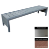 Picture of Mall Bench - Stainless Steel 304 and Composite - Bolt Down - 45x240x51cm - Colour Options - MLO4262S