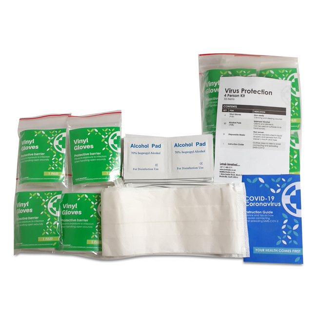 Picture of Virus Protection Kit - Personal - 4 Persons - (MOQ 40) - FAK9008