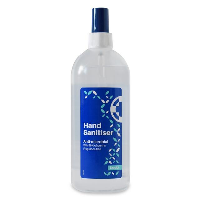 Picture of Hand Sanitiser Liquid Spray- Anti-microbial - 70% Ethanol  - 500mi - 870030