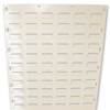 Picture of Louvre Bin Panel - Wall Mounted Steel - Small Part Storage - 152.4 x 45.7 cm (PANEL1524)