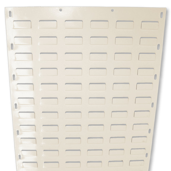 Picture of Louvre Bin Panel - Wall Mounted Steel - Small Part Storage - 91.4 x 45.7 cm (PANEL914)
