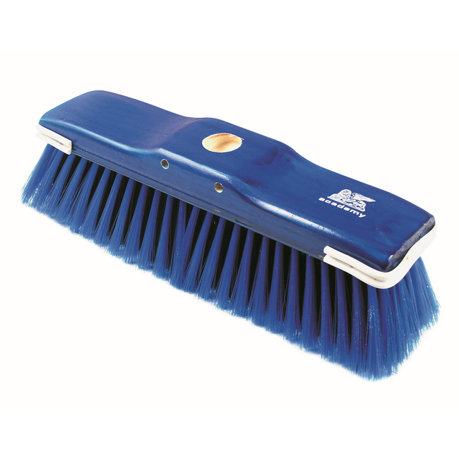 Picture of Floor Broom - Head Only - GB6 - Soft - Black PVC Fibre - Coloured Synthetic Border - Buffers - Pack of 30 - F3316