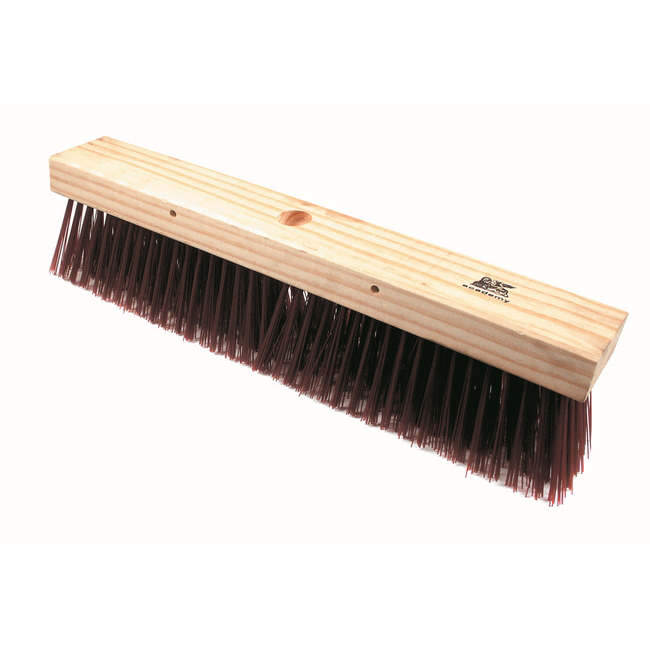 Picture of Platform Broom - Head Only - Brown Synthetic Fibre (0.75mm) - 46cm - (12 Pack) - F3206