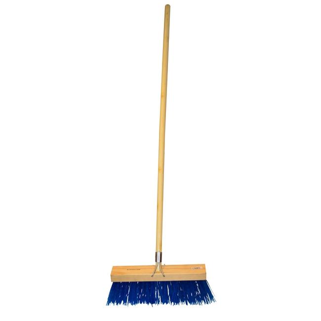 Picture of Bass Broom - Complete - Millennium - Polypropylene Fibre - Wooden Handle - 55 Grip - 37.5cm - (3 Pack) - F3144