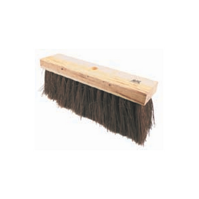Picture of Bass Broom - Head Only - Natural Fibre - 37.5cm - Pack of 12 - F3103