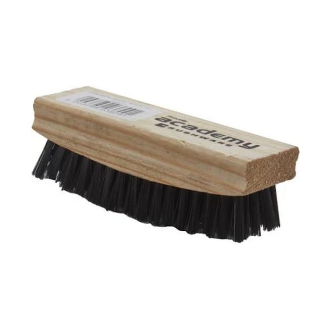 Picture of Shoe Brush - Black Fibre - Unvarnished - (10 Pack) - F3809