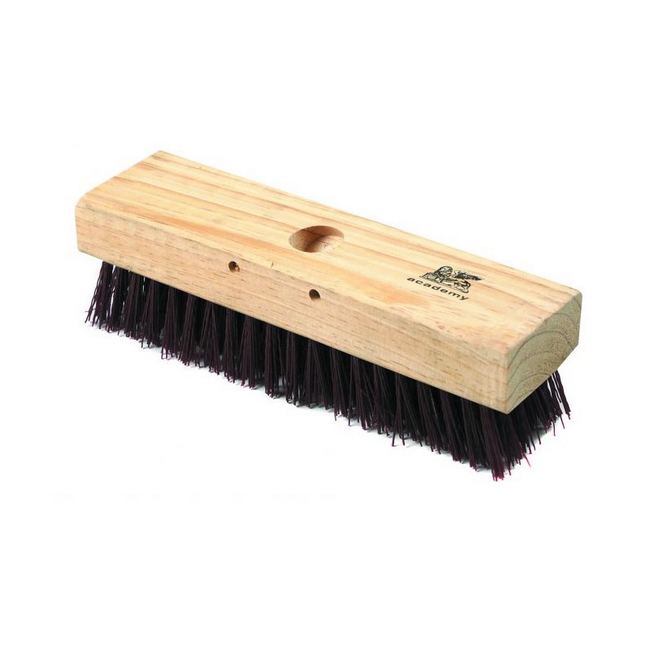 Picture of Deck Scrub - Head Only - Brown PVC Fibre - Pack of 5 - F4007
