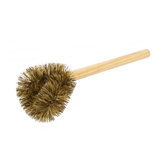 Picture of Sanitary Toilet Brush - Union Fibre Substitute - Wooden Handle - (MOQ 5) - F39062
