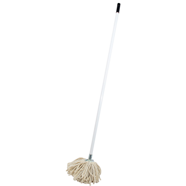 Picture of Mop - Complete - W4 Head with Metal Socket - Metal Handle - 365g - Pack of 5 - F8661