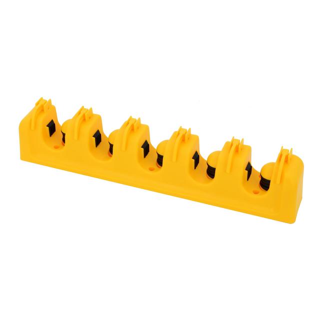 Picture of Wondertrack - Handled Tool Wall Organiser - for Brooms and Mops - Plastic - F6903