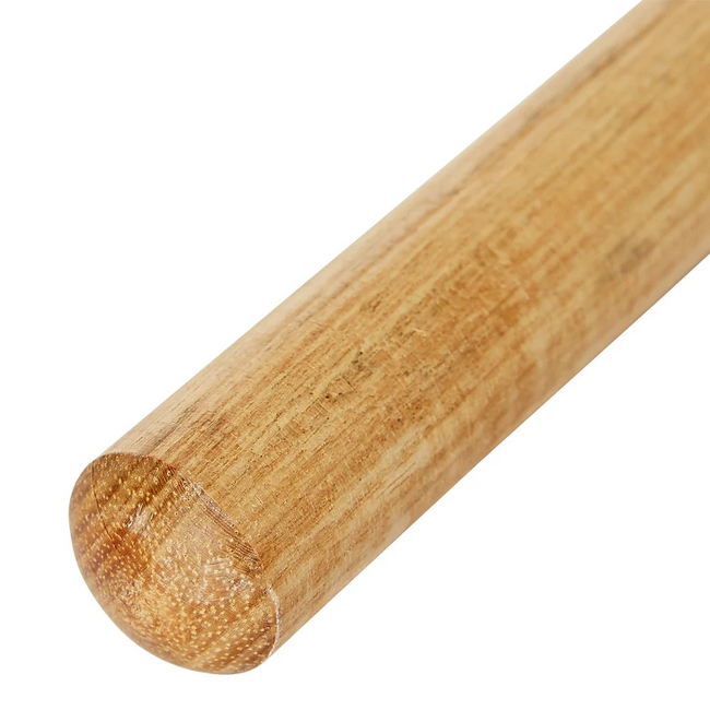 Picture of Broom Handle - Broomstick - Wooden - Plain - Unvarnished - 1.2m x 25mm - (20 Pack) - F3317P