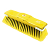 Picture of Floor Broom - Head Only - GB6 - Soft - Black PVC Fibre - Coloured Synthetic Border - Buffers - (30 Pack) - F3316