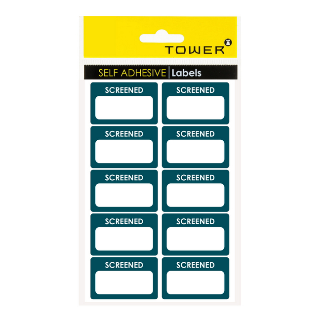 Picture of Labels - Hygiene - Screened - 32 x 50mm - 1 Pack - SCR3250SG