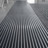 Picture of Heavy Duty Mat System - Dm Aluminium Linking Joints - Woven Brush Insert - 3mm Foam Backing - 12mm High - per m2 - Charcoal - DMA010002