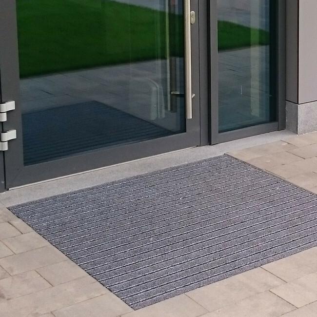Picture of Outdoor Entrance Mat - Super Scraper - 200 x 1.3 cm - per Linear Metre - Grey - PMS060001C