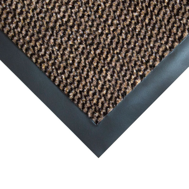 Picture of Doormat - Vyna-Plush Non-Slip - 75 x 40 x 0.7 cm - Black and Brown - VP010506