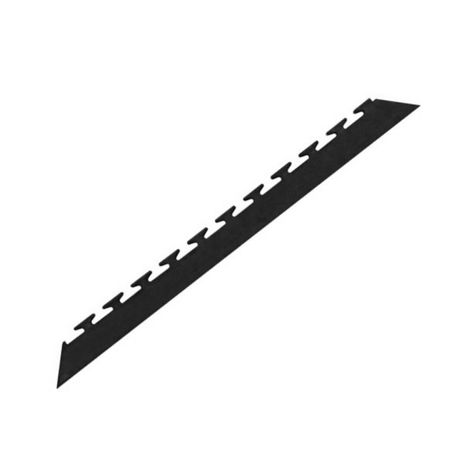 Picture of Interlocking PVC Tile Edge - Black - 5301