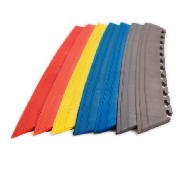Picture of Interlocking PVC Tile Edge - Yellow - (MOQ 200) - 5302-yellow